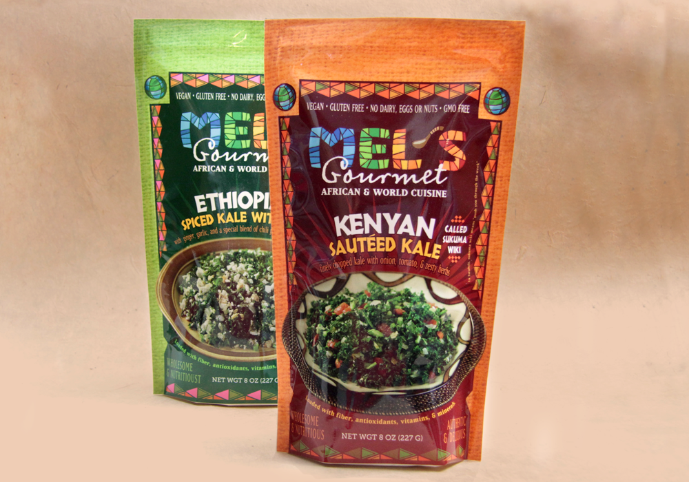 Mel's Gourmet Food Packaging Design