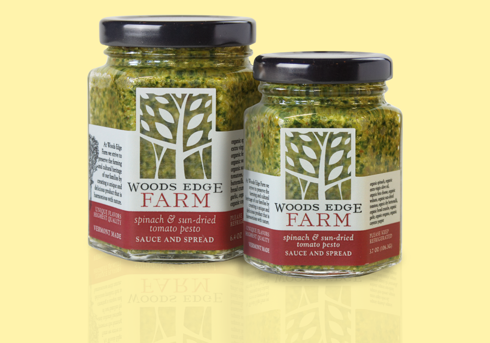 Woods Edge Farm Food Packaging Design