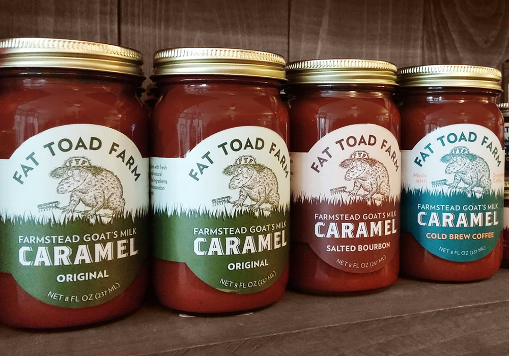 Fat Toad Farm Packaging & Label Design