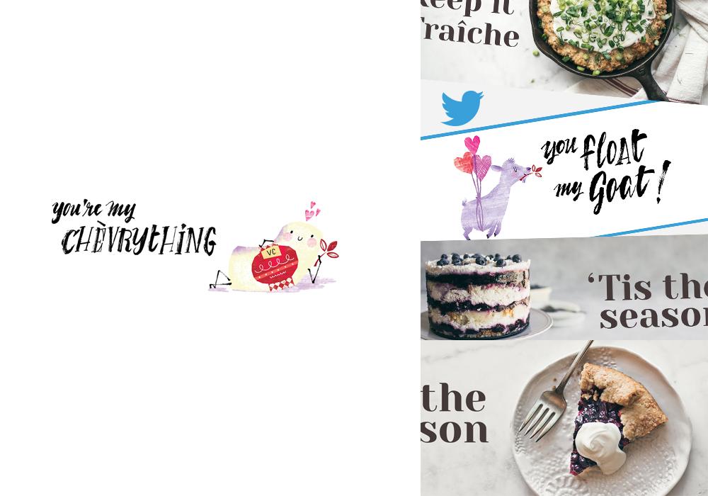 Vermont Creamery Valentine's Social Media Strategy