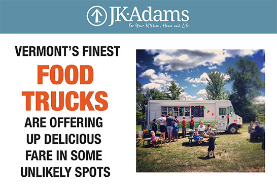 J.K. Adams Food Trucks Food Blogging