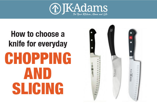 J.K. Adams Knife Food Blogging