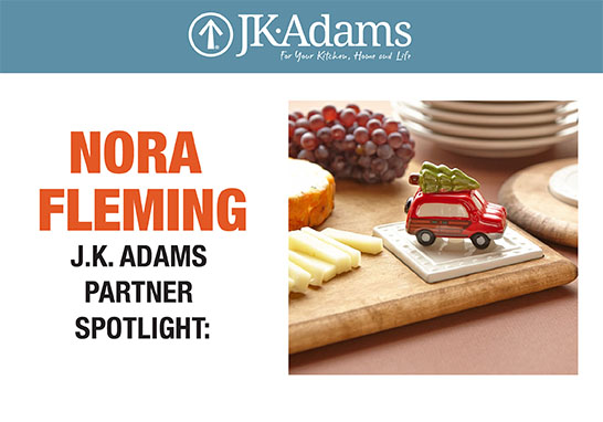 J.K. Adams Nora Fleming Food Blogging
