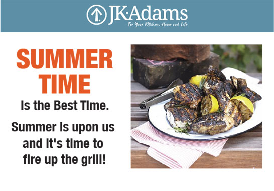 J.K. Adams Summer Food Blogging