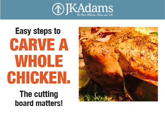 J.K. Adams Chicken Food Blogging