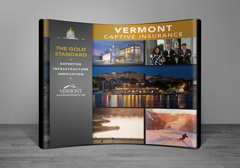 Vermont Captive Trade Show Display Design