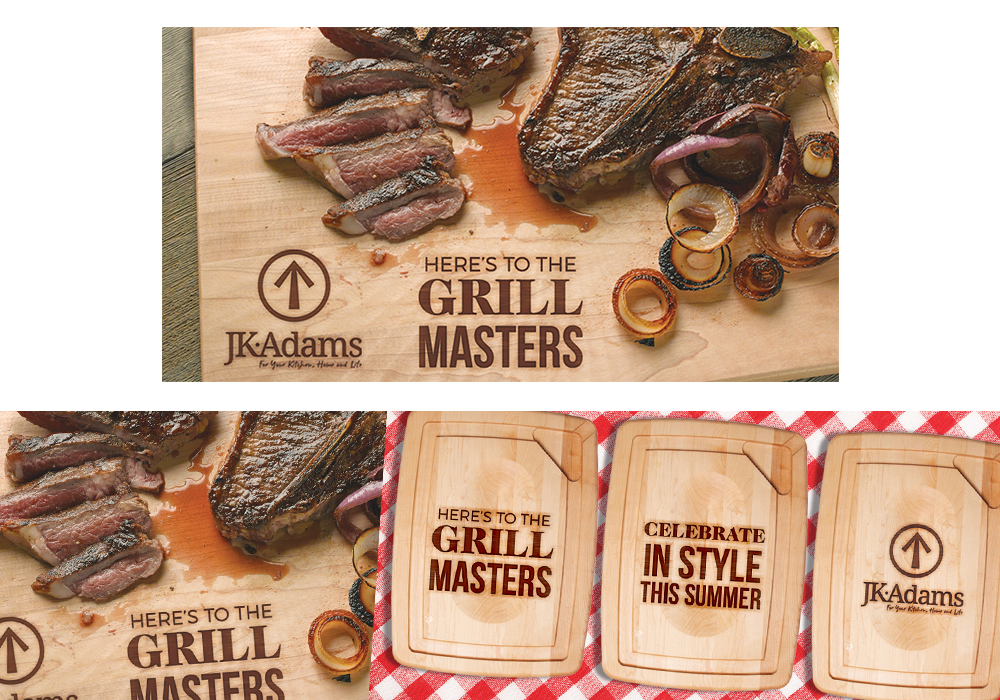 JK Adams Grill Masters Social Media Graphic