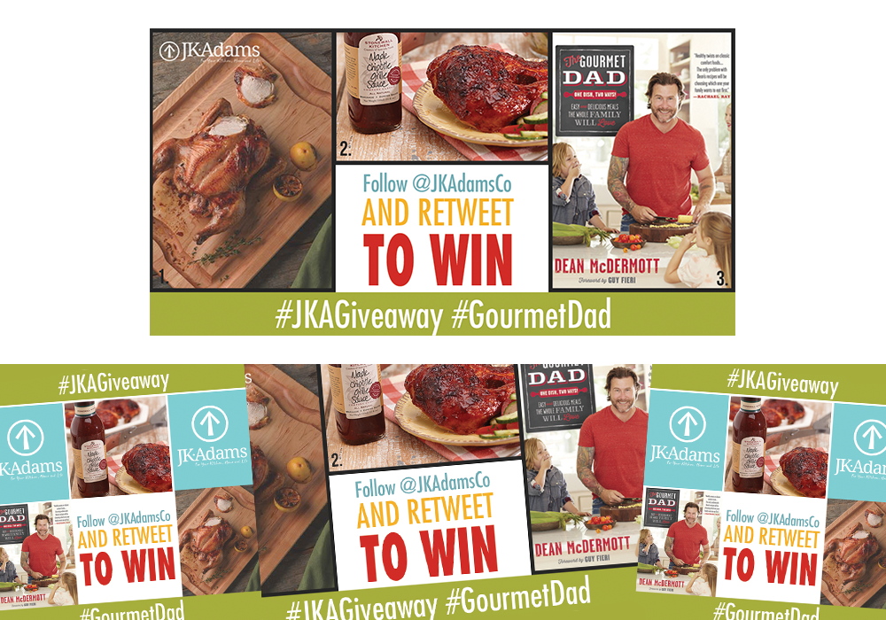 JK Adams Gourmet Dad Giveaway Ad
