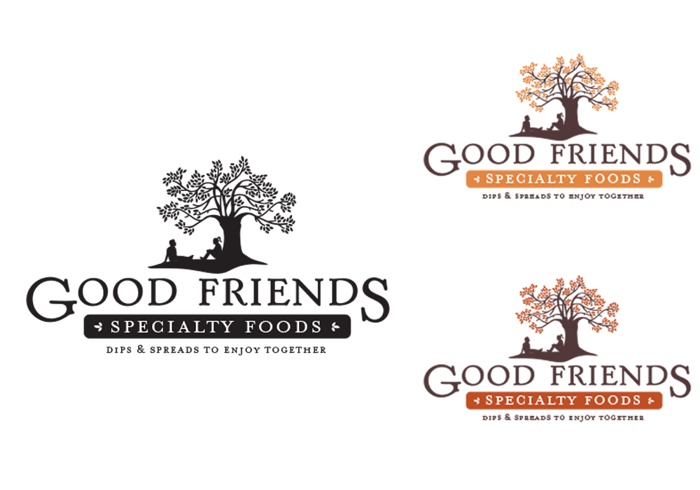Good Friends Specialty Food Identity