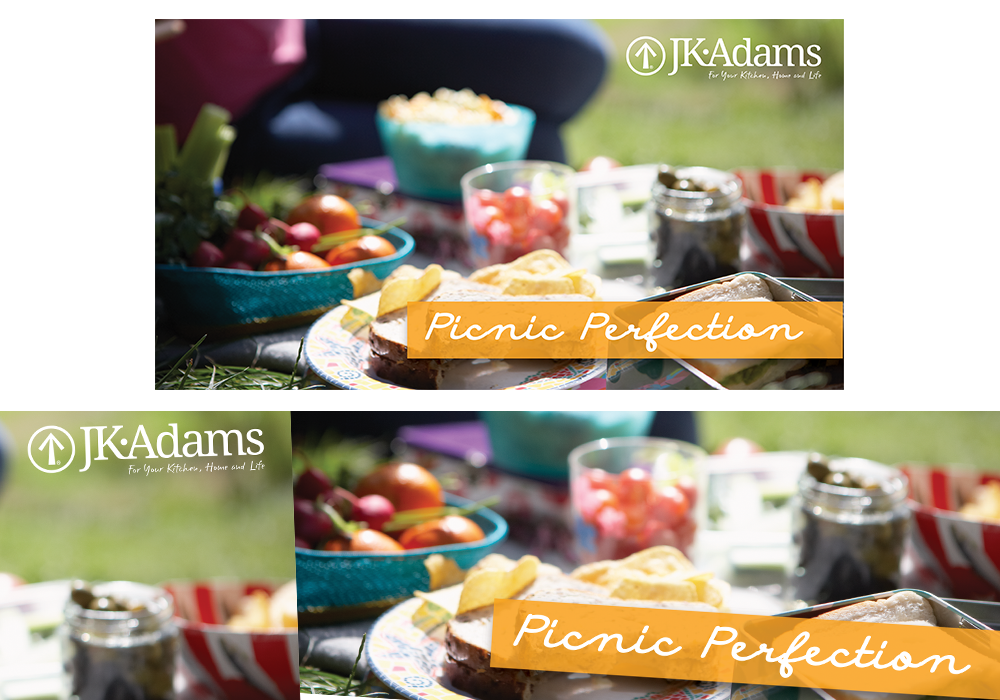 JK Adams Picnic Perfection Social Media Graphic