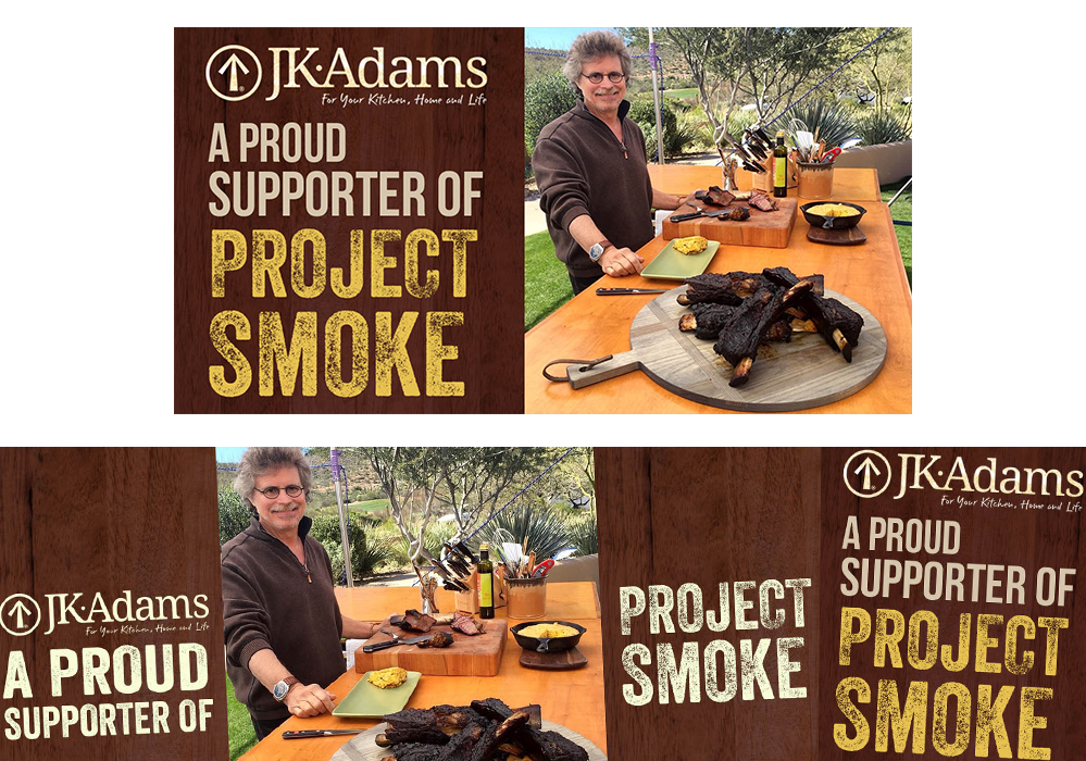 JK Adams Project Smoke Social Media Design