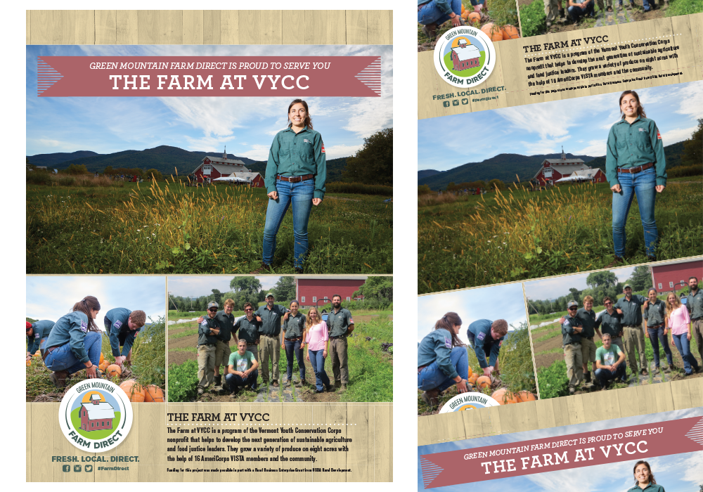 Green Mountain Farm Direct VYCC Poster