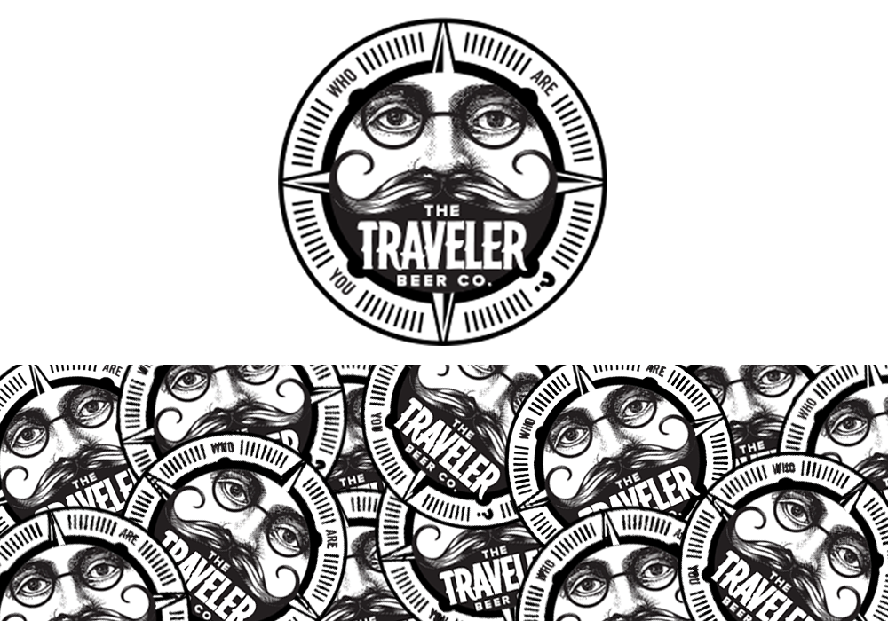 Traveler Beer Logo Design