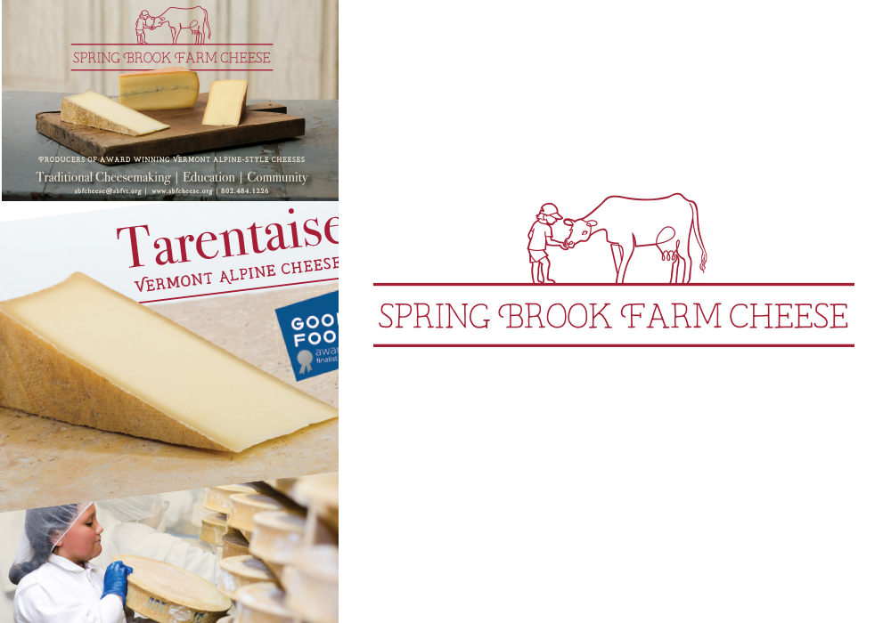 Spring Brook Farm Cheese Identity Design