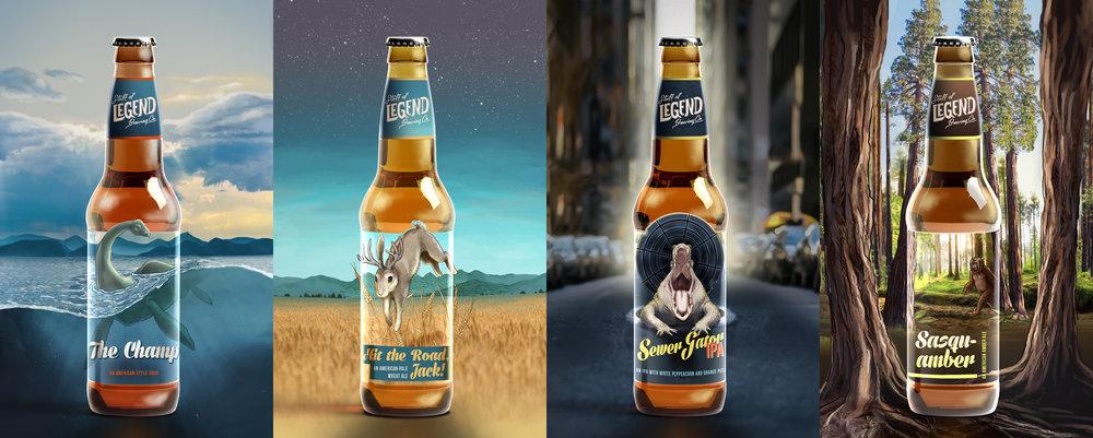 Beer packaging beer branding