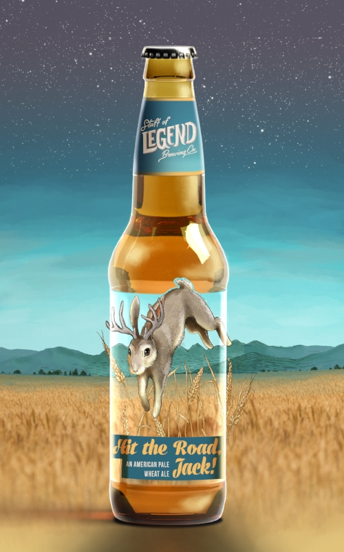 beer bottle packaging design