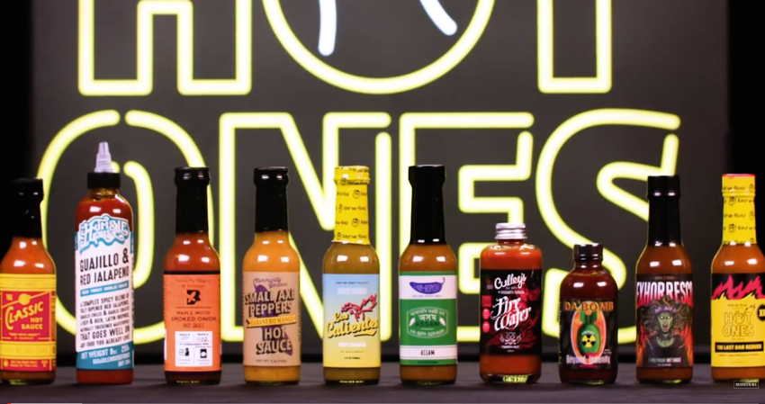 Skillet Client, Butterfly Bakery's Hot Sauces Featured in Season 7 of Hot Ones.