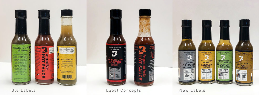 Food labeling design
