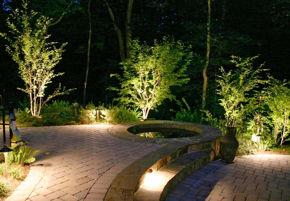 Landscaping spring creek landscape co lighting1g mozeypictures Image collections