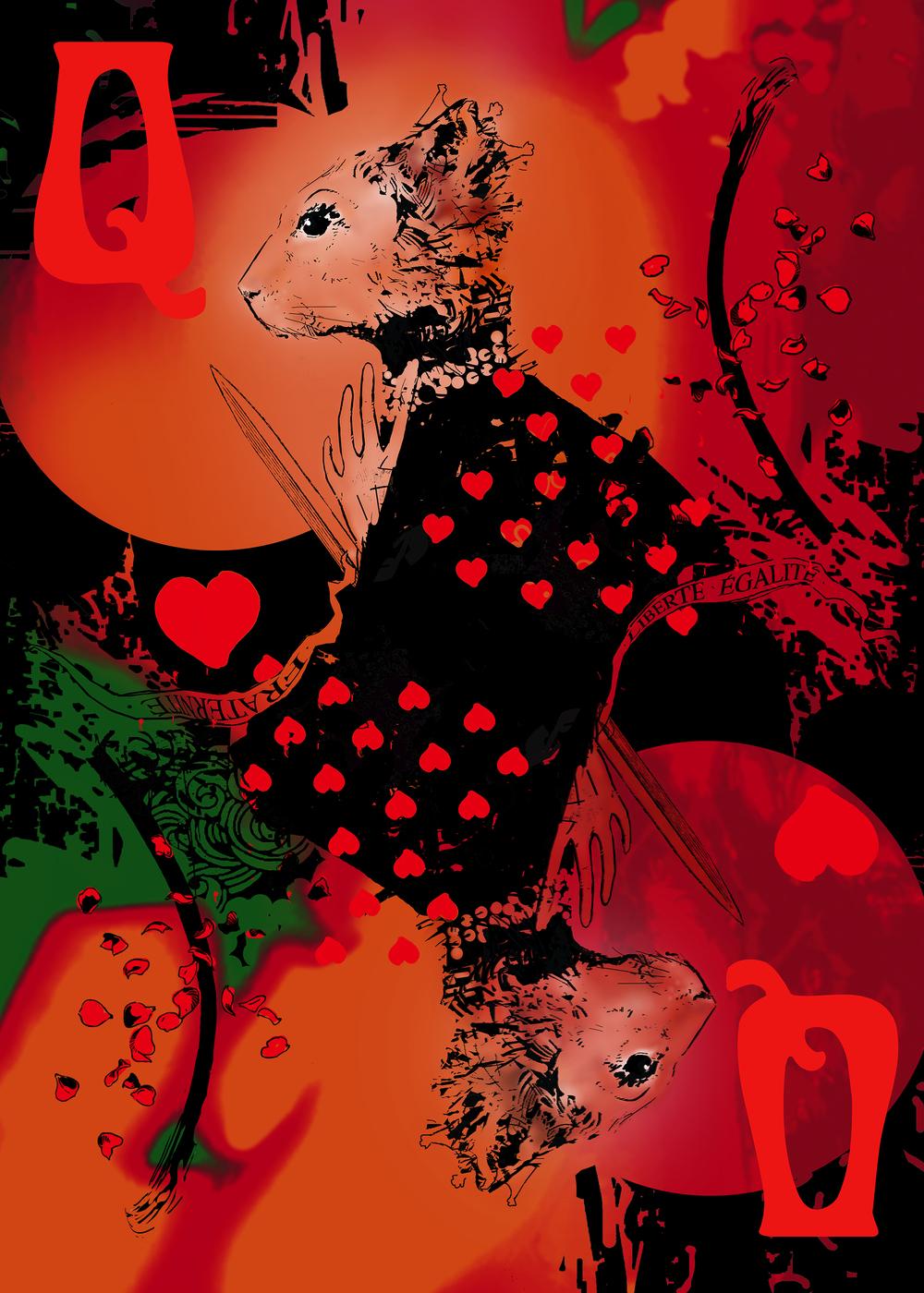 Harry Bunce - Queen of Hearts