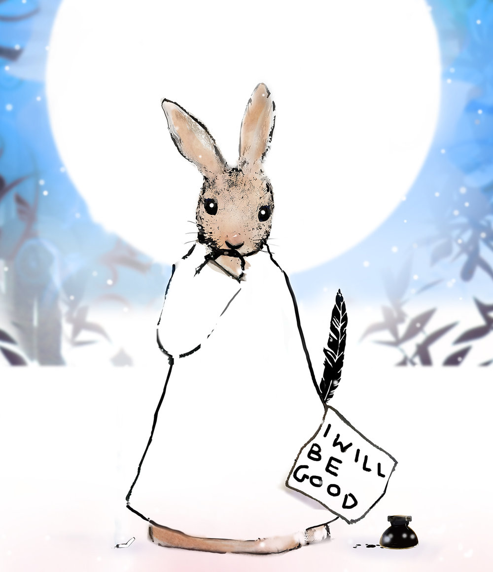 Harry Bunce - The Happy Year, January