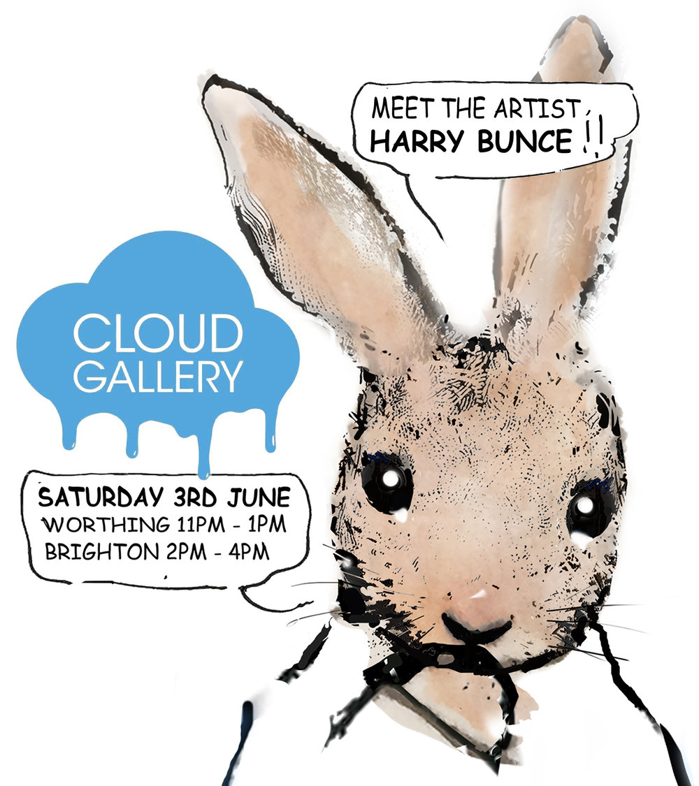 Meet the artist - Harry Bunce - Cloud Gallery