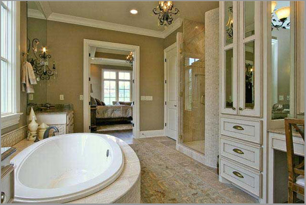 New Custom Home Designs - Bathroom 2