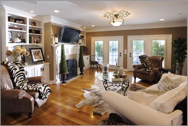 New Custom Home Design - Living Rooms 1