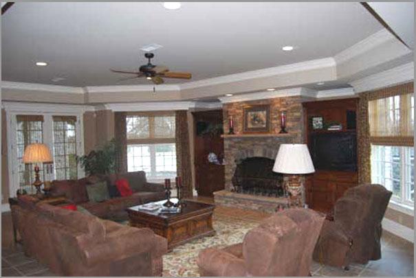 New Custom Home Design - Living Rooms 3