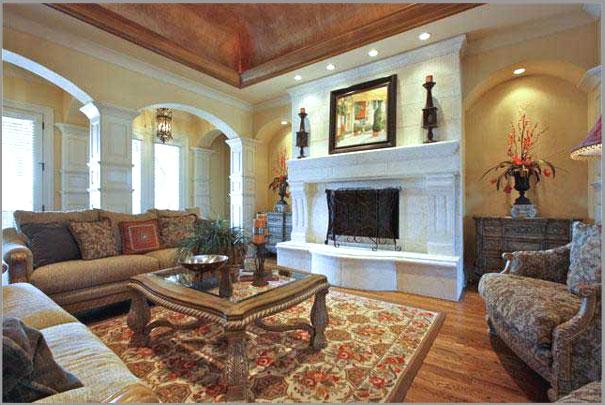 New Custom Home Design - Living Rooms 4