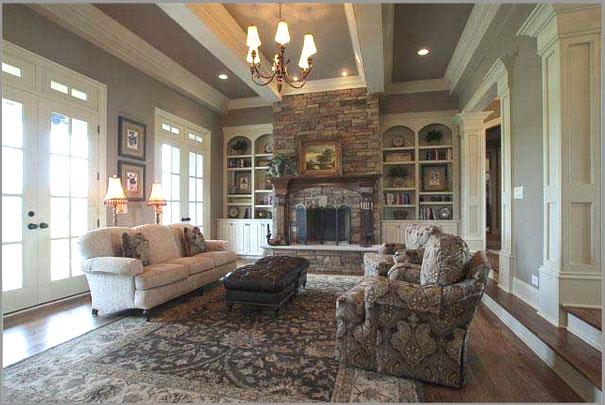 New Custom Home Design - Living Rooms 5