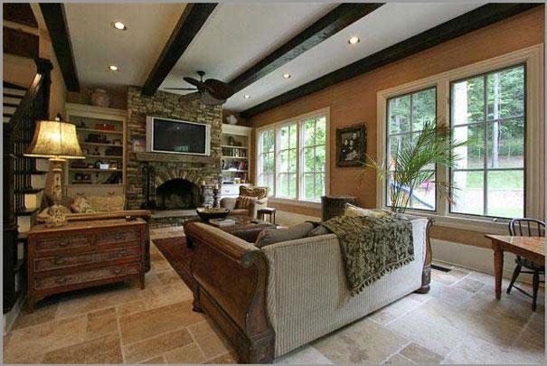 New Custom Home Design - Living Rooms 7
