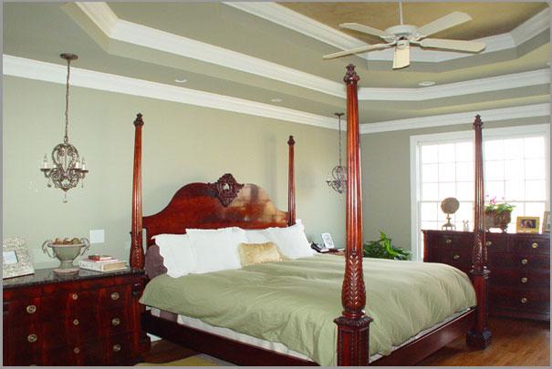New Custom Home Design - Bedrooms 4