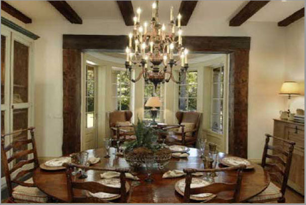 New Custom Home Design - Dinning Room 2