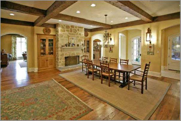 New Custom Home Design - Dinning Room 1