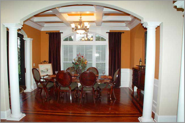 New Custom Home Design - Dinning Room 4