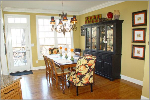 New Custom Home Design - Dinning Room 6