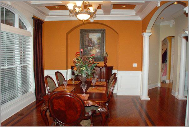 New Custom Home Design - Dinning Room 7