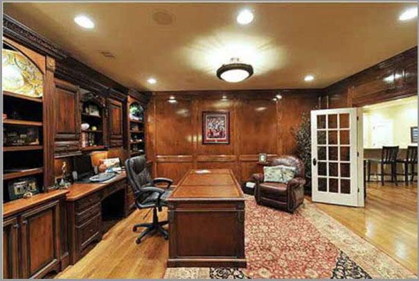 New Custom Home Design - Home Office 2