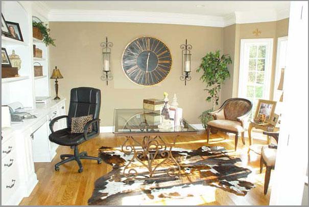 New Custom Home Design - Home Office 3