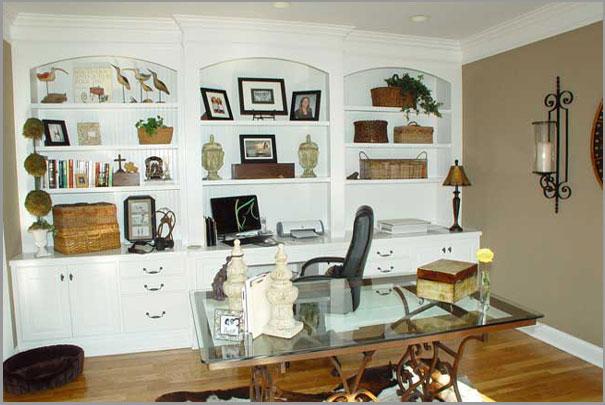 New Custom Home Design - Home Office 5