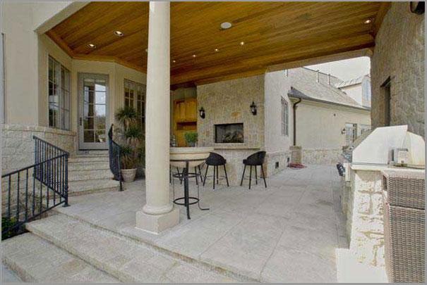 New Custom Home Design - Outdoor Rooms 2