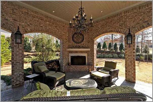 New Custom Home Design - Outdoor Rooms 1