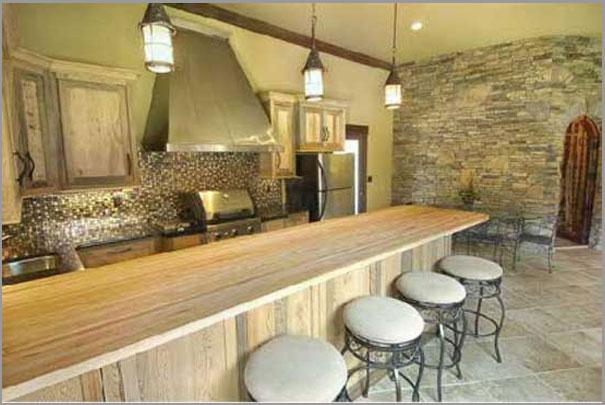 New Custom Home Design - Outdoor Rooms 3