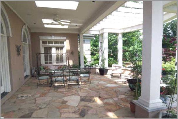 New Custom Home Design - Outdoor Rooms 5