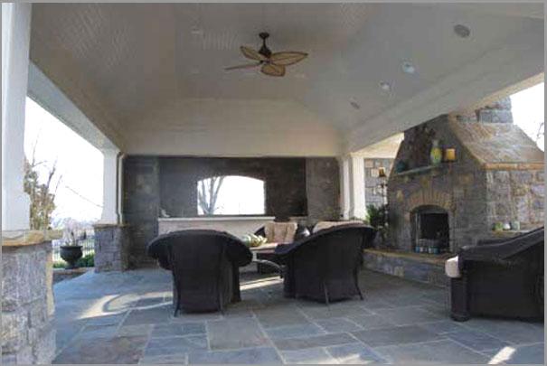New Custom Home Design - Outdoor Rooms 6