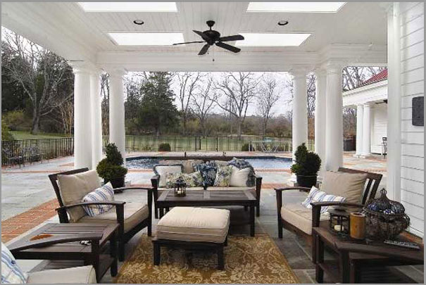 New Custom Home Design - Outdoor Rooms 7