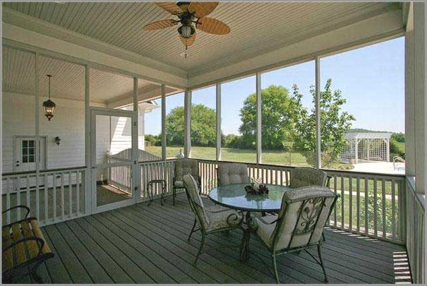 New Custom Home Design - Sunrooms Porches 2