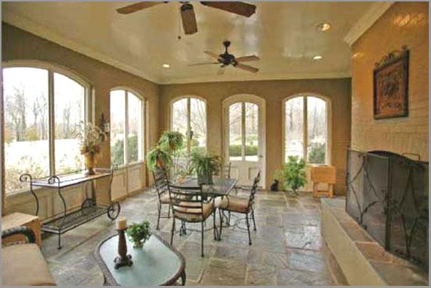 New Custom Home Design - Sunrooms Porches 4