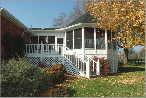 New Custom Home Design - Sunrooms Porches 6